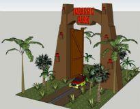 侏罗纪公园入口大门