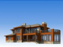 玫瑰园-别墅3D模型