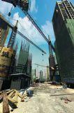 超写实的建筑工地场景3D模型