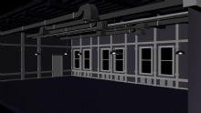 办公室设计maya模型