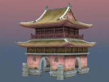 中式门楼建筑