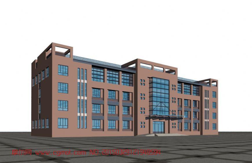 办公楼3D模型