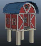 农场小房子建筑3D模型