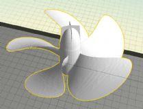 5叶螺旋桨