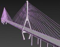 杨浦大桥3D模型