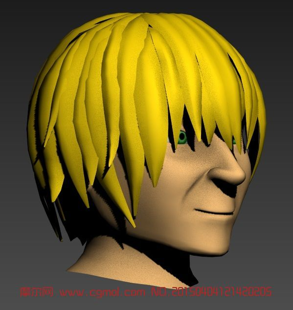 男头3D模型