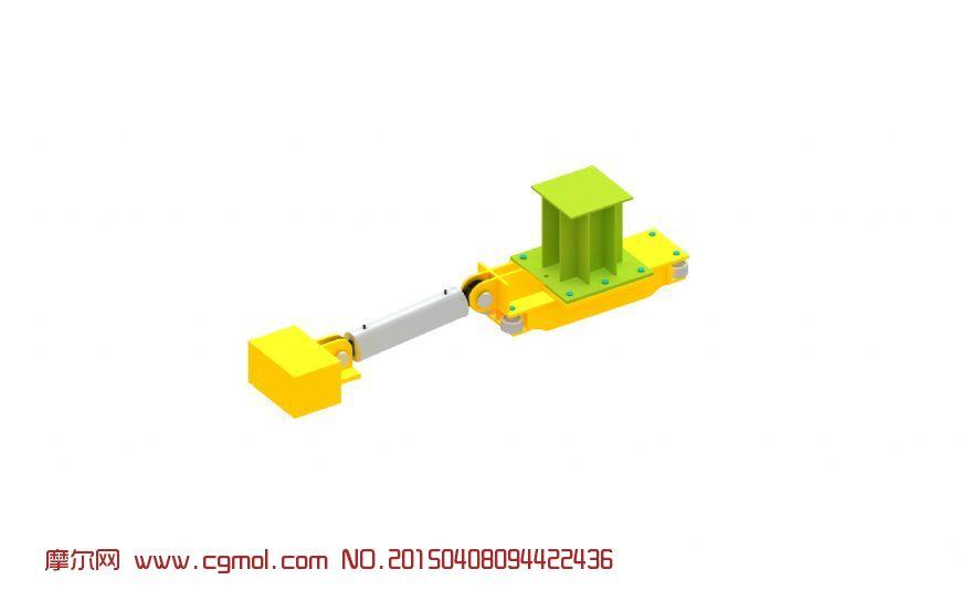 滑移地牛3D模型