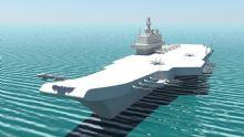 瓦良格号航空母舰maya模型
