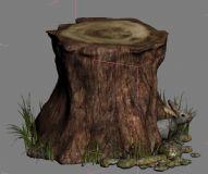 树根下的机智小兔子3D模型