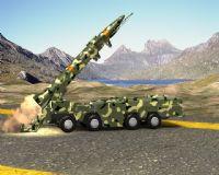导弹发射动画max模型