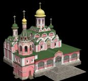 国外教堂max模型