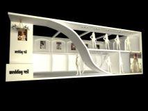 婚纱展厅3D模型