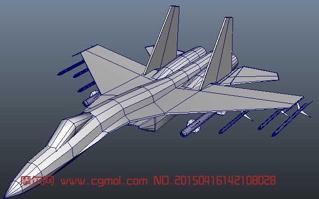 战斗机飞机苏35 作品描述: 上一个作品:  肌肉狮子3d模型
