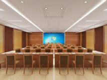 会议室,多媒体教室3D模型