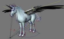 独角兽,飞马3D模型
