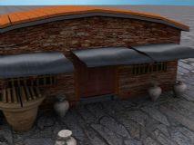 北方农村民居3D模型