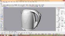 电热水壶3D模型
