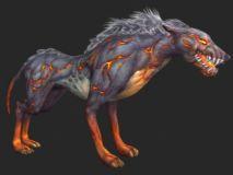 地狱犬3D模型(呼吸动作)