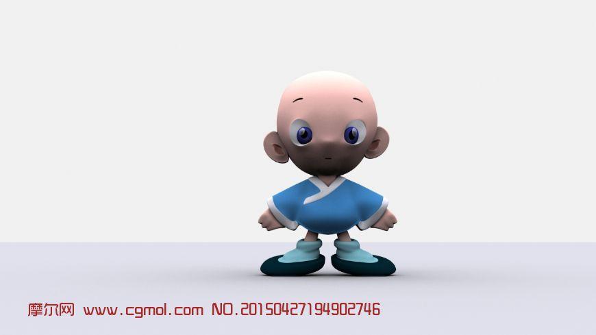 动画角色 卡通角色  标签:卡通玩偶和尚 作品描述:卡通玩偶 上一个
