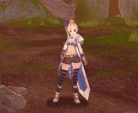 韩国游戏中的女剑士3D模型