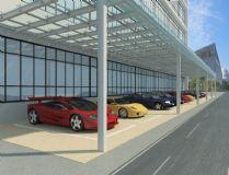停车场3D模型