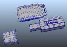 U盘maya模型
