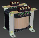 变压器3D模型