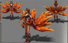 lol焰尾妖狐皮肤3D模型
