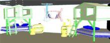 创意卧室设计maya模型