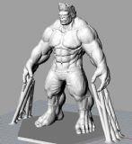 绿巨人浩克Hulk3D打印模型