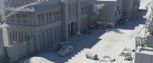 摩加迪沙场景maya模型
