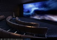 VIP专座影院,放映厅3D模型