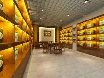茶业店面3D模型