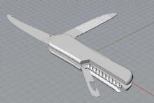 瑞士军刀sdm模型