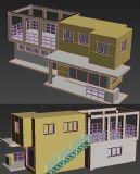 两层别墅模型