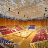 标准室内篮球场max模型