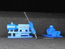 煤矿高压水射流治理煤层H2S工艺模型