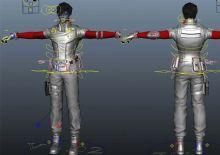 张杰逆战装备maya模型