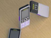 旧款诺基亚手机su模型