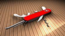 瑞士军刀maya模型