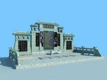 3D墓碑模型