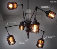 复古蜘蛛照明灯3D模型