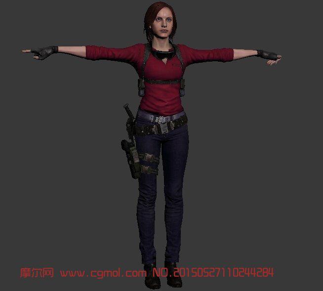 Claire Redfild克莱尔・雷德菲尔德3D模型