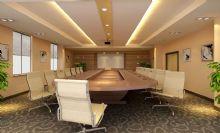 会议室3d场景