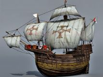 旧船,海盗船