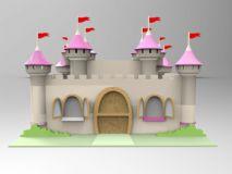 城堡3D模型(obj格式)