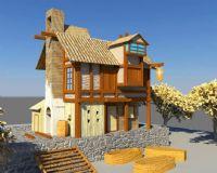 房子maya模型