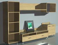 电视墙,电视柜max模型