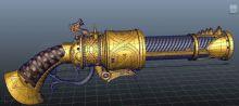 火铳,火枪maya模型