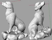 十二生肖之狗3D打印模型